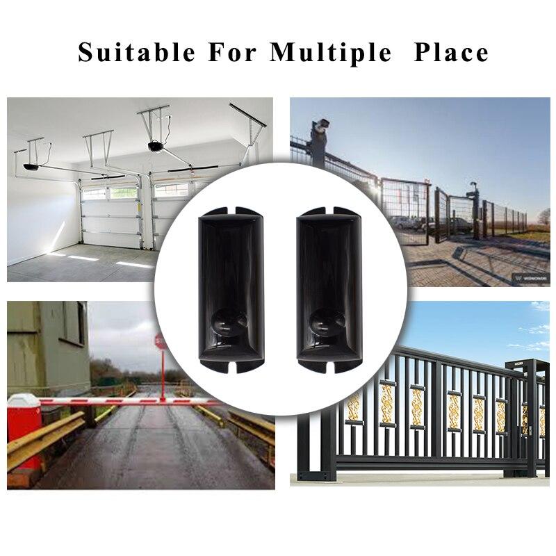 Impermeabile del Sensore del Fascio A Raggi Infrarossi Attivi Rivelatore di Intrusione 15m Esterno Perimetrale Barriera Muro Recinzione per GSM di allarme