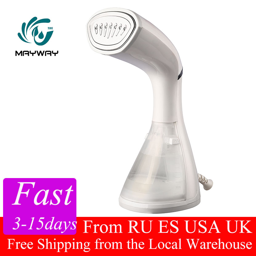 New Garment Steamers Clothes Mini Steam Iron Handheld dry Cleaning Brush Clothes 110V Household Appliance Portable Travel Colors