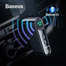 Baseus AUX автомобильный bluetooth-приемник 3,5 мм разъем аудио Музыка Bluetooth 5,0 автомобильный комплект Беспроводной Громкая Связь Динамик Bluetooth стерео