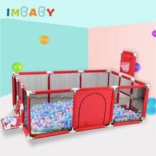 IMBABY детский манеж для сухого бассейна с шариками детский забор Манеж для новорожденных Товары для детской активности защитный барьер забор для кровати