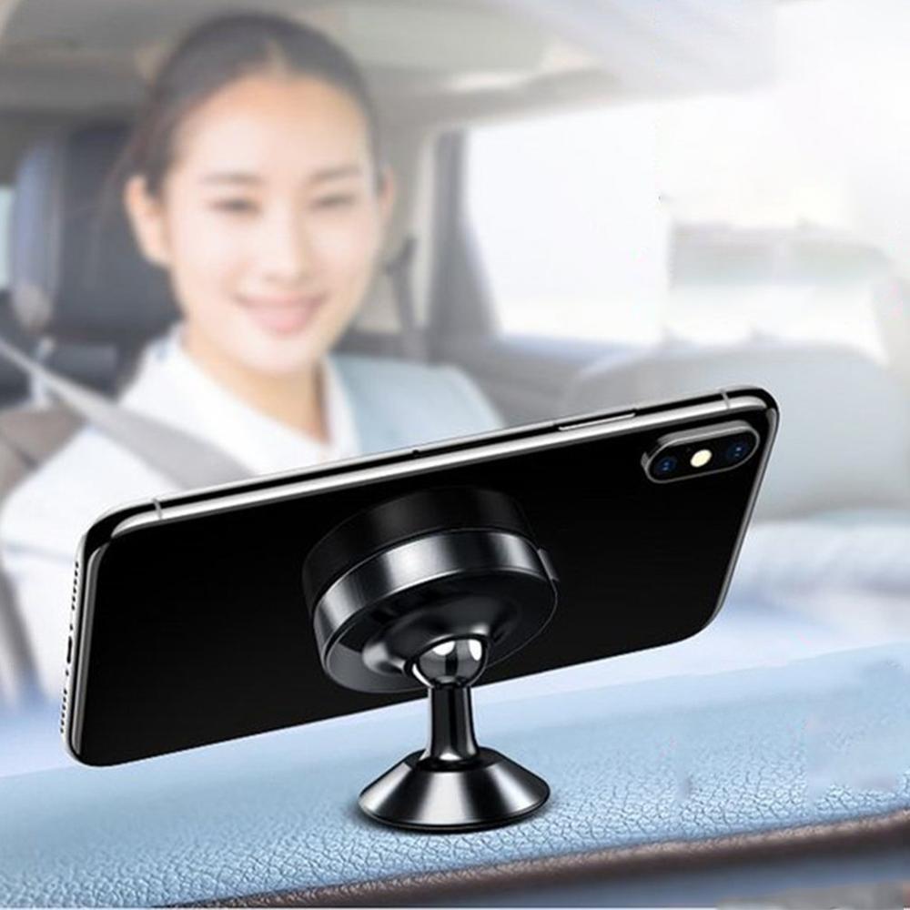 Magnetic Car Phone Mount Holder 360 Degree Rotation Universal Car Mount Holder