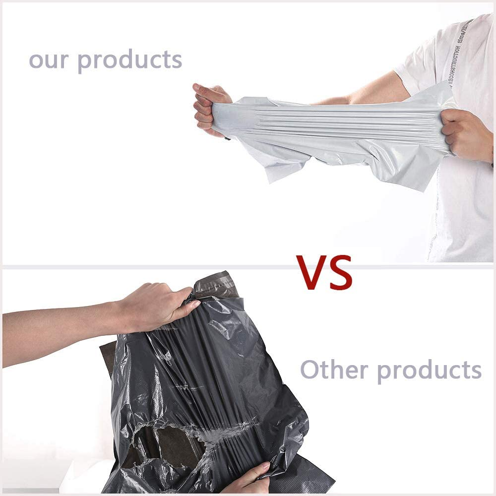 Plastic Mailer Shipping Package Envelope Bag Self Adhesive White Poly Currier Bag Product Packaging Bag