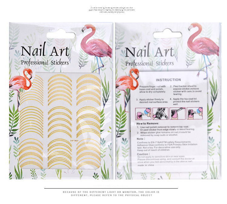 Golden 3D Nail Sticker Point Hollow Design 3D Sticker Self Adhesive Sticker 9X7 7CM Sheet Nail Decoration Sticker NK Card Paper in Stickers Decals from Beauty Health