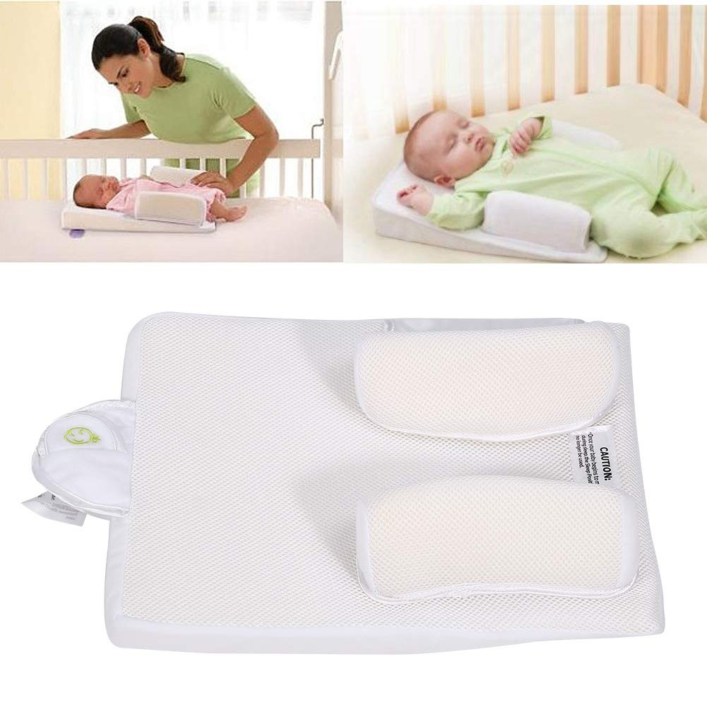 Baby Crib Bed Nest Newborn Stereotypes Pillow Travel Portable Infant Cradle Cot Sleeping Positioning Pad 0-12 Months