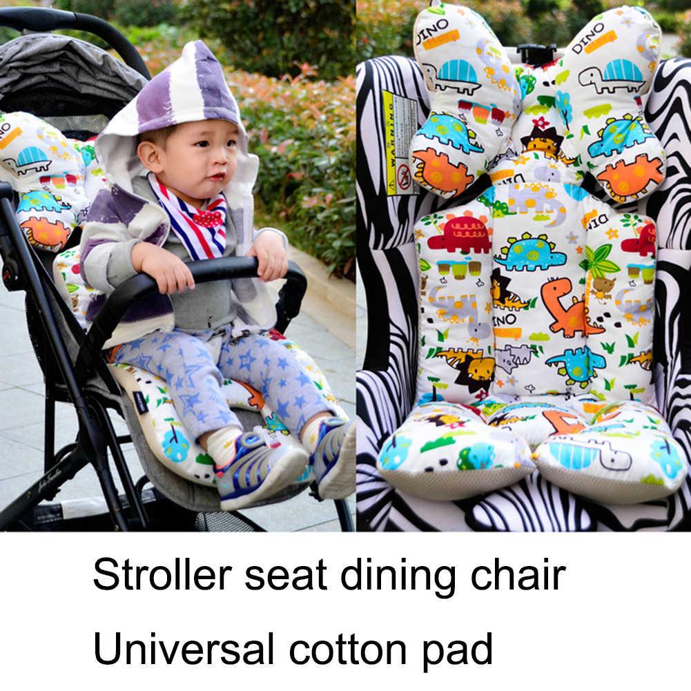 Baby Gedruckt Kinderwagen Pad Sitz Warm Kissen Pad Matratzen Kissen Abdeckung Kind Wagen Warenkorb Verdicken Pad Trolley Stuhl Kissen
