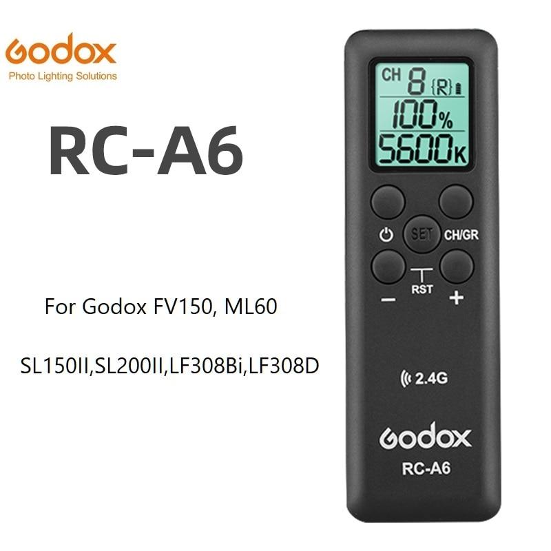 Godox дистанционное управление A6 для SL150II, SL200II, FV150, FV200, LF308D,LF308BI,ML60,SZ200Bi