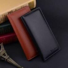 Men's Bifold Leather Multi Credit Card Holder Checkbook Purse