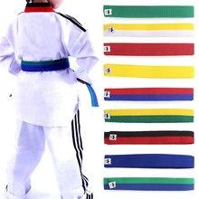 Protective-Waistband Martial-Arts Jitsu New Jiu Belts Judo Taekwondo Standard-Tapes Professional