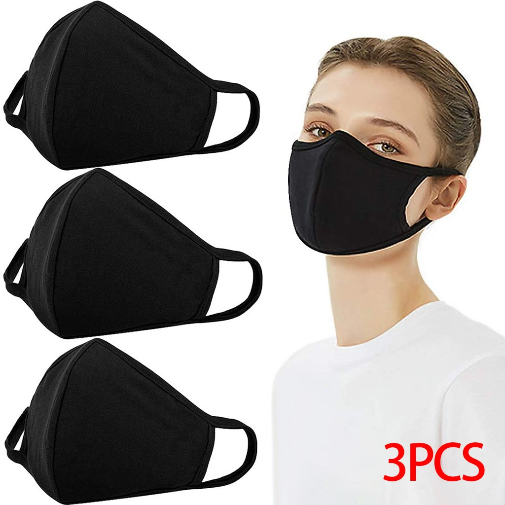 3pcs Covers Reusable Dustproof Cover Dust Cover PM2 5 Windproof Foggy Haze Pollution Respirato Breathable Mouth Innrech Market.com