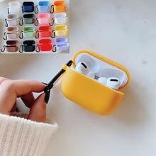 Чехол ярких цветов для apple airpods pro беспроводной bluetooth