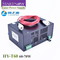 HY T60 Laser Power Supply 110V 220V for 60W 70W CO2 Laser Tube HY 60W PSU Device HY 60W Source Laser Cutting Engraving Machine