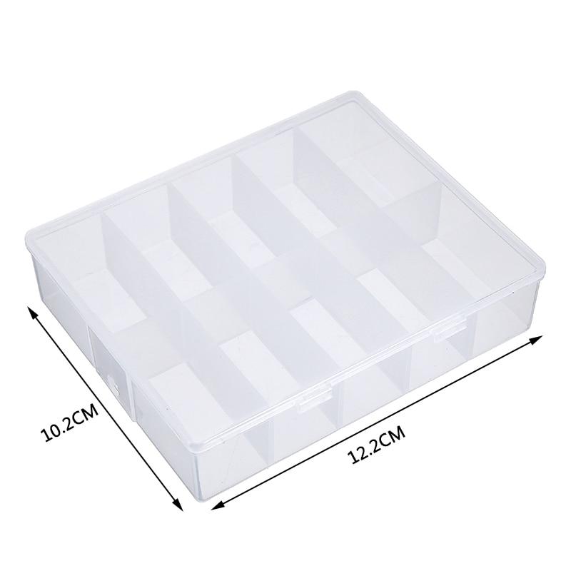 Пустое хранение для принадлежностей дизайна ногтей коробка хранения