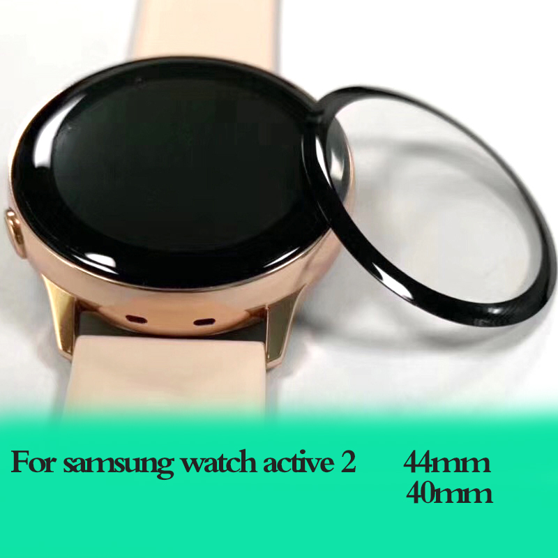 Galaxy Watch Active 2 Glass For Samsung Gear S3 Frontier 44mm 40mm/46mm/42mm S2/Sport 3D HD Full Screen Protector Film Active2