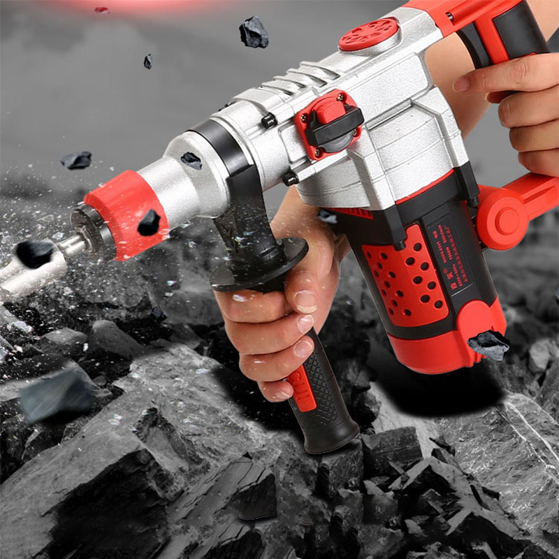 Multi-function Electric Impact Drill Concrete Household Industrial Grade Professional Drill Tool