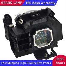 NP07LP lampa projektora z obudową dla NEC NP300 NP400 NP410 NP500 NP510 NP600 NP610 kompatybilny GRAND lampa