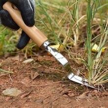 Деревянная ручка Нержавеющаясталь садовый культиватор ручная