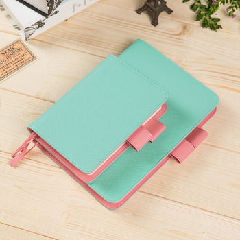 Japanese Kawaii Notebook Cover A6 A5 2019 Planner Organizer Book Cover For Standard A6/5 Notebook Journal multiple colors simulated leather cover a5 a6 suitable for hobonichi and other standard journal sheets
