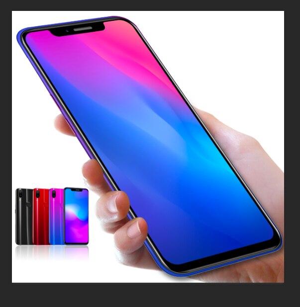 Smartphone X21 Global Version 4GB+64GB Smart Cell Phone Quad Core 6.2 Inch Telephone Dual Sim