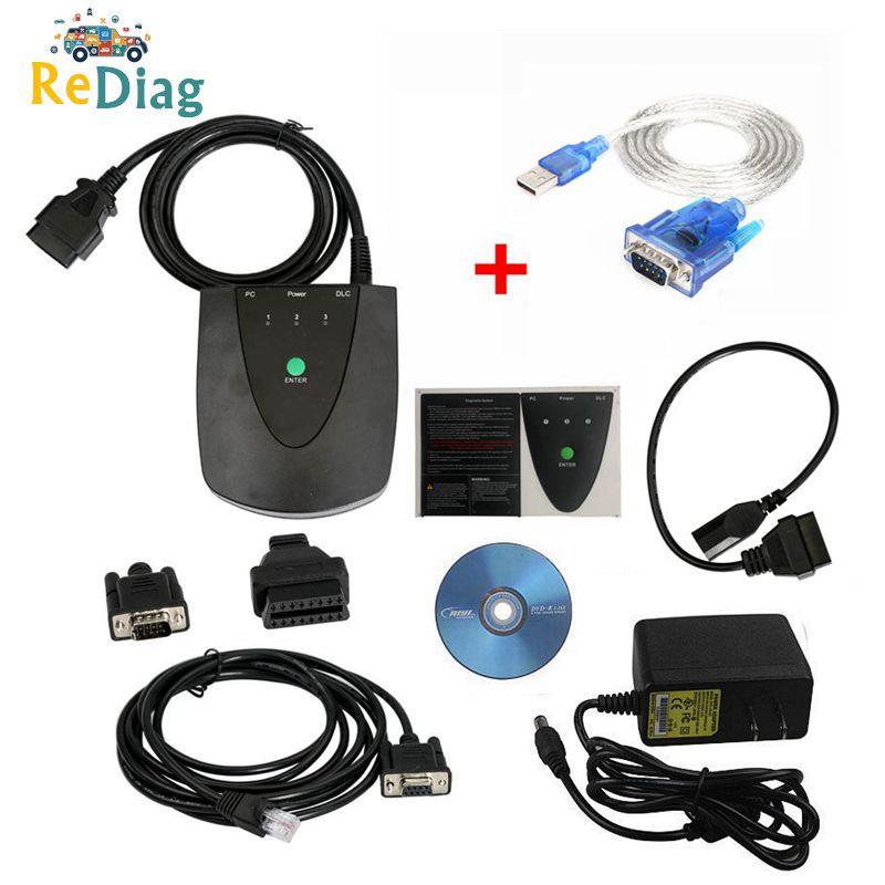 Диагностический инструмент HDS V3.103.066 последней версии для Honda HDS He с двойной печатной платой для Honda HDS сканер