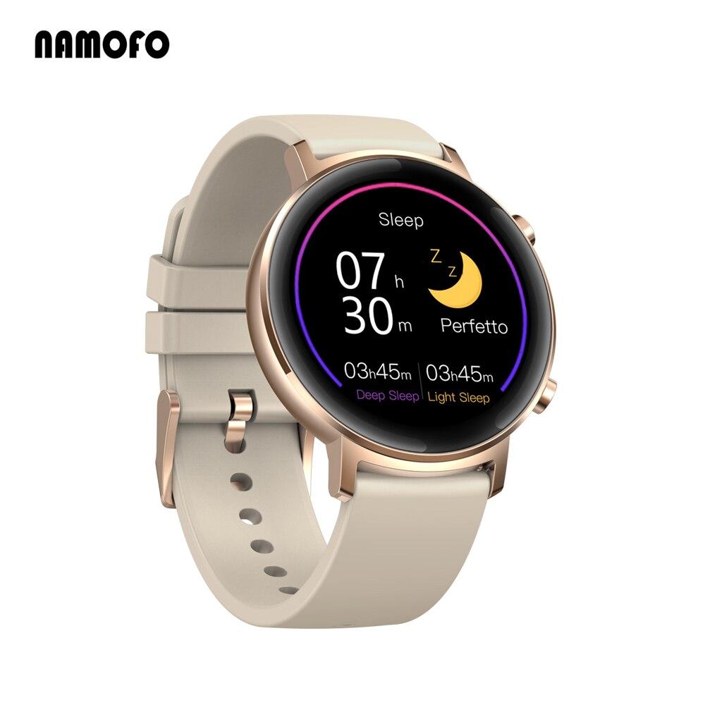 Permalink to Men Women Smart Watch Full Touch Golden Color Waterproof Sports Fitness Tracker Bracelet Heart Rate Sleep Monitoring Smartwatch