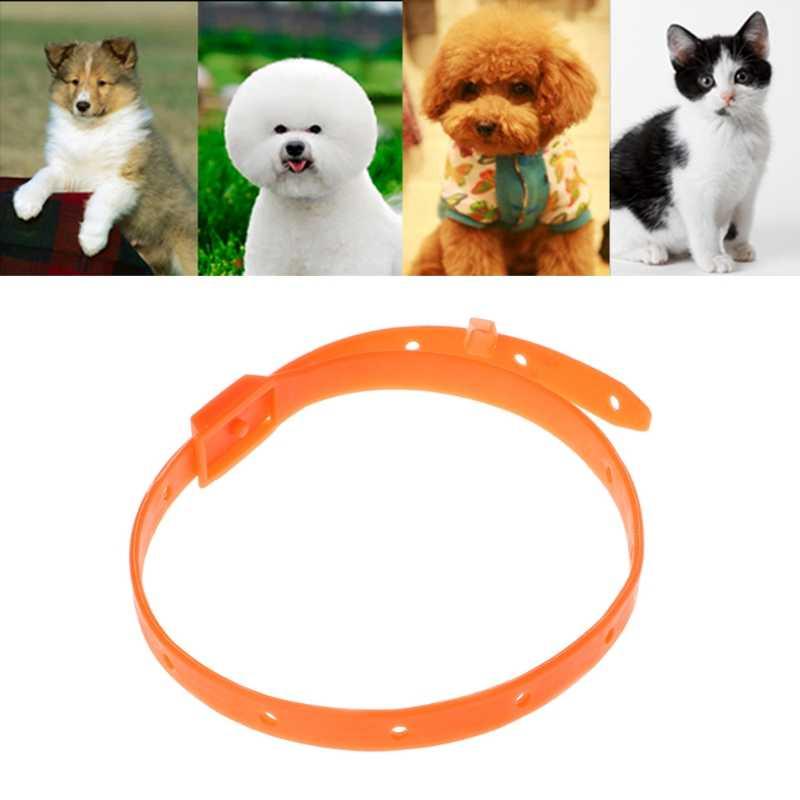 Кота собаки любимчика от блох, клещей убить жидкость для снятия воротник Регулируемая Защита аромат горловое кольцо