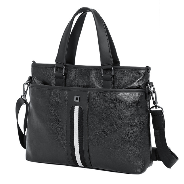 Casual Synthetic Leather Shoulder Bag