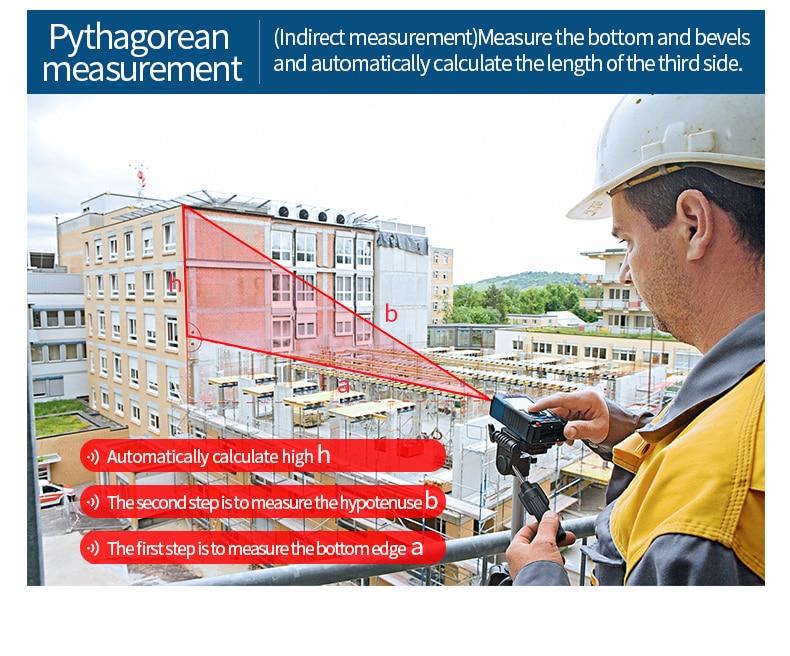 Pythagorean measurement