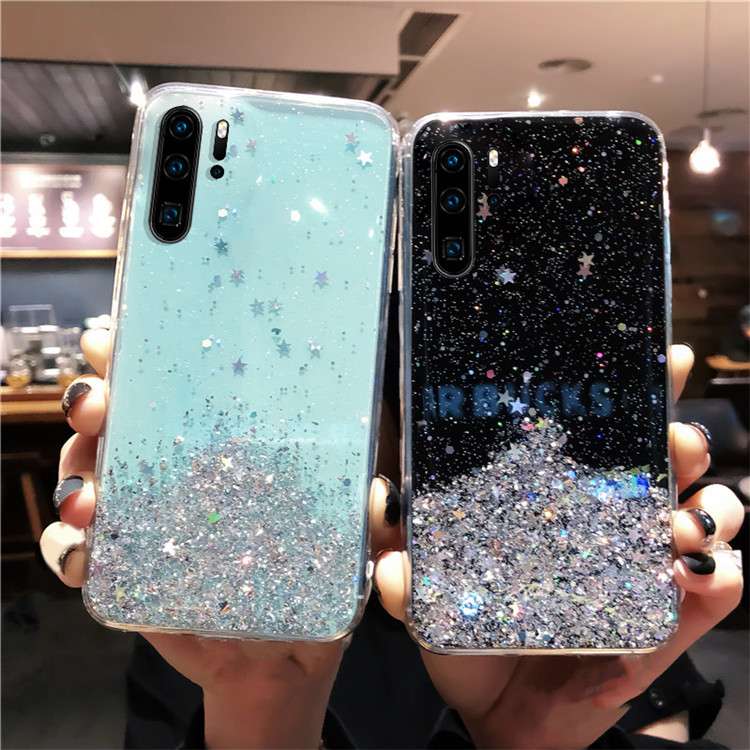 Hb051b648d0f4472abd5541d9ae897fe3H - YBD Soft Shiny Bling Case for Xiaomi Redmi Note 8 pro 7 pro K20 Pro 9s Coque for Xiaomi mi 9 9t cc9 6 6x 8 lite 8 se Case 8T
