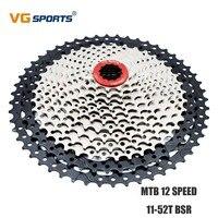 산악 자전거 카세트 12 Velocidades 11-52T Freewheel 도로 자전거 플라이휠 12 속도 52T 12 S 12 V MTB 스프로킷 톱니 cdg VG 스포츠