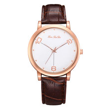 wristwatches Women Fashion Luxury Leisure Set Auger Leather Stainless Steel Quartz часы женские Watch reloj mujer gift for women(China)
