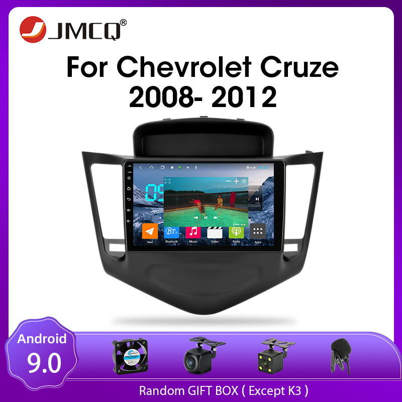 JMCQ Android 9.0 Car Radio For Chevrolet Cruze 2009 2014 Multimedia Video Player 2din GPS Navigaion Split Screen with CANBUS|Car Multimedia Player| - AliExpress