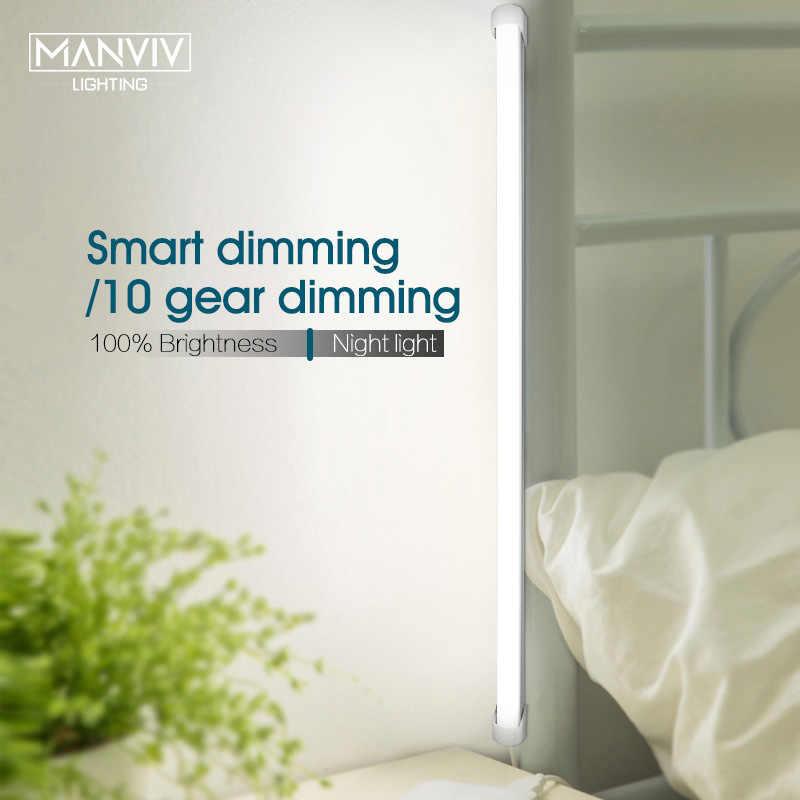 5V LED USB Kabinet Lampu LED Dapur Menghias Lampu 18/35/52Cm Cocina Lampu Kamar Tidur lemari Laci Membaca Eye Protection