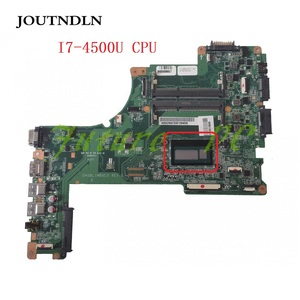 JOUTNDLN FOR TOSHIBA SATELLITE L50-B Laptop Motherboard A000295670 W/ I7-4500U CPU DA0BLIMB6F0 REV:F Test work