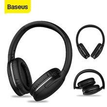Baseus D02 Pro cuffie Bluetooth senza fili auricolari Stereo HIFI cuffie sportive pieghevoli con cavo Audio per tablet iphone