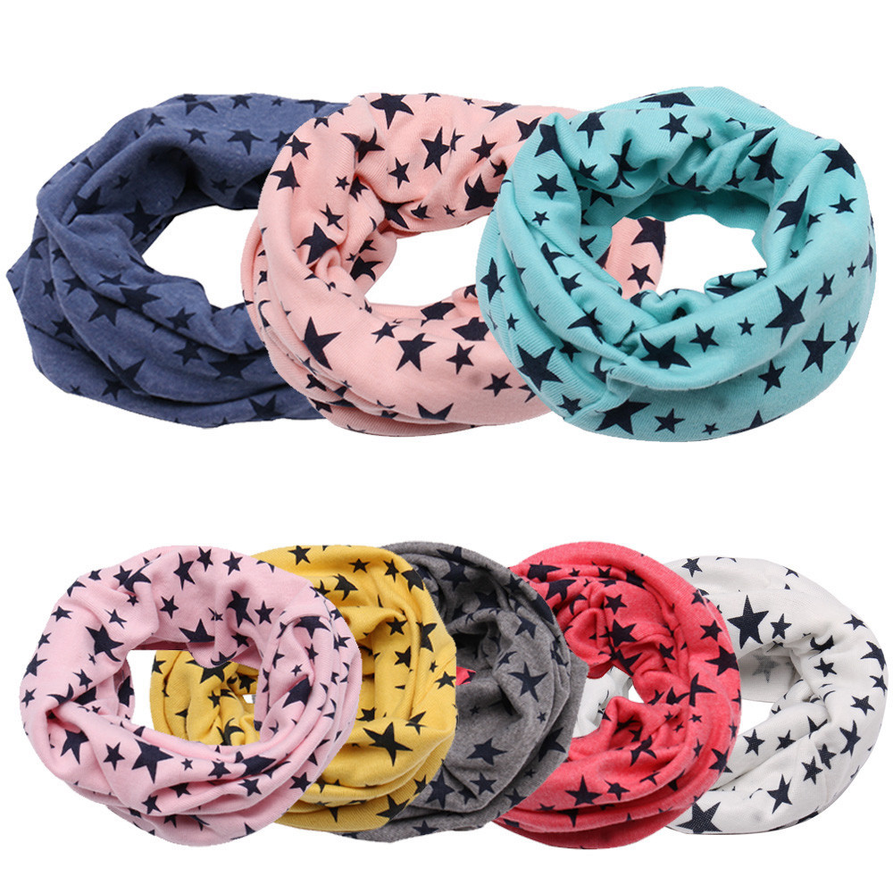 Children LIC Baby Wool Ring Scarf New Autumn Winter Boys Girls Baby Cotton O Ring Scarf Neck Scarves Shawl Winter Neckerchief