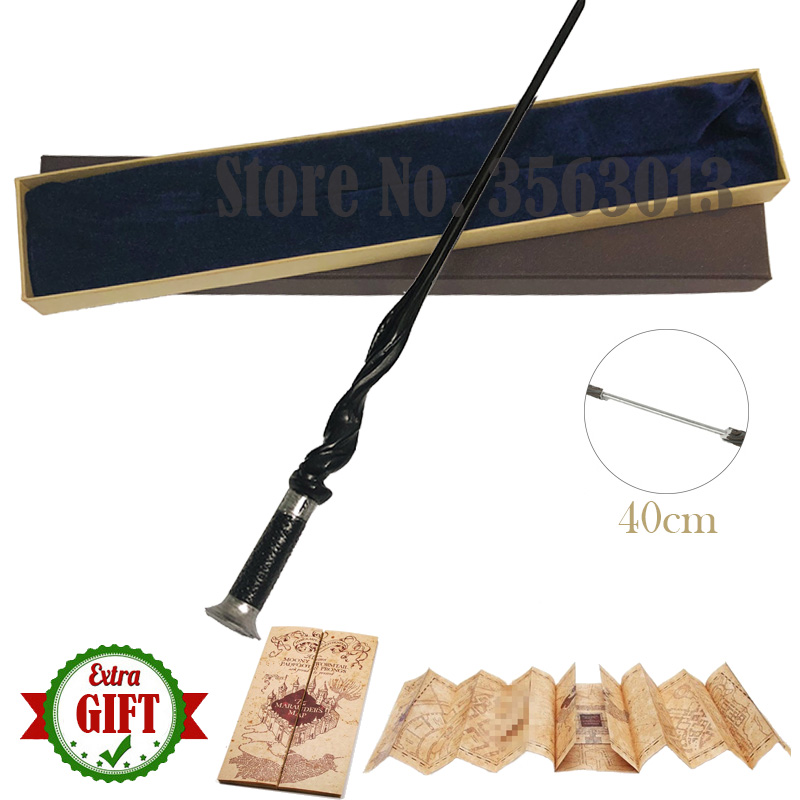 40cm Metal Core Young Dumbledore Magic Wand Harry Magic Wand Series  Pottered Magical Wand With Elegant Gift Box Packing