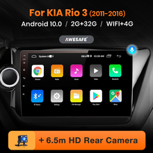 AWESAFE PX9 for KIA RIO 3 2011 2012 2013 2014 2015 2016 Car Radio Multimedia video player GPS No 2din 2 din Android 10 2GB+32GB