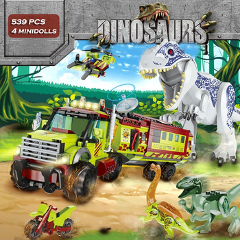 ts8000 jurassic dinosaurs base tyrannosaurus escape building blocks toys kids diy bricks gift for children compatible with lepin Dinosaurs Toy Jurassic Dinosaur World Building Blocks Set Mini Figures Bricks Boy Velociraptor Tyrannosaurus Toys for Kids