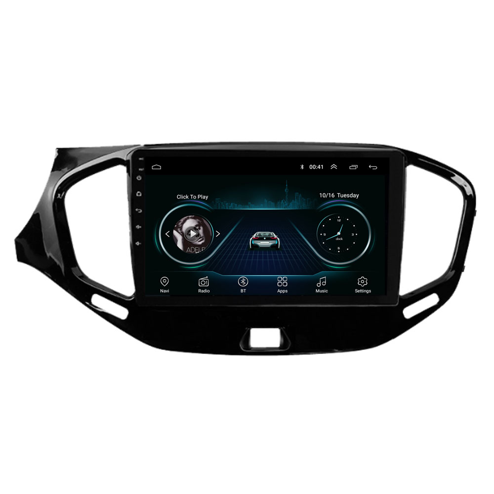 9 4G LTE Android 8.1 For LADA Vesta Cross Sport 2015 2016 2017 2018 2019 Multimedia Car DVD Player Navigation GPS Radio image