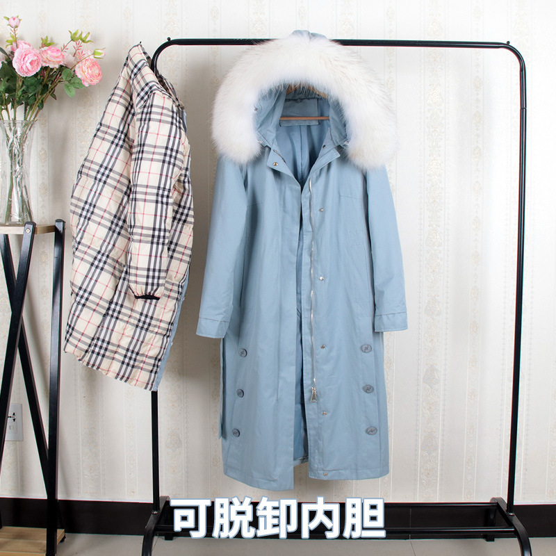 Down   Jackets Girls Long Fund Overknee Thickening Can Shirk Responsibility Inner Tank Heavy Seta Lead Send Overcome Loose   Coat