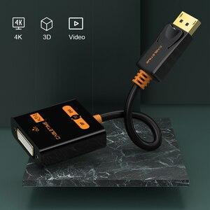 Image 3 - Переходник CABLETIME с порта дисплея на DVI, переходник «штырь гнездо», активный порт дисплея DP на DVI, удлинитель 1080P 3D для проектора HDTV PC N108