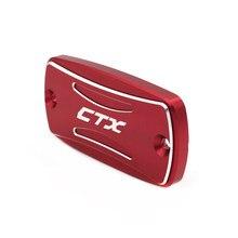 Para honda ctx 700 2014-2017 2016 ctx700 acessórios da motocicleta freio dianteiro cilindro de embreagem reservatório de fluido tampa