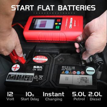 Urządzenie do uruchamiania awaryjnego samochodu bez akumulatora bezpieczne wkładanie samochodu-40 stopni do 80 stopni niski stopień użytkowania ładowanie 5 sekund przez akumulator samochodowy 12V tanie i dobre opinie CARBASIS 2000-3000 1000 A 90 1 2KG