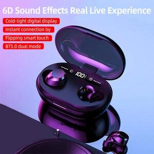 Bluetooth наушники беспроводные наушники 6D стерео гарнитуры шумоподавление Игровые наушники 3300 мАч зарядная коробка с микрофоном
