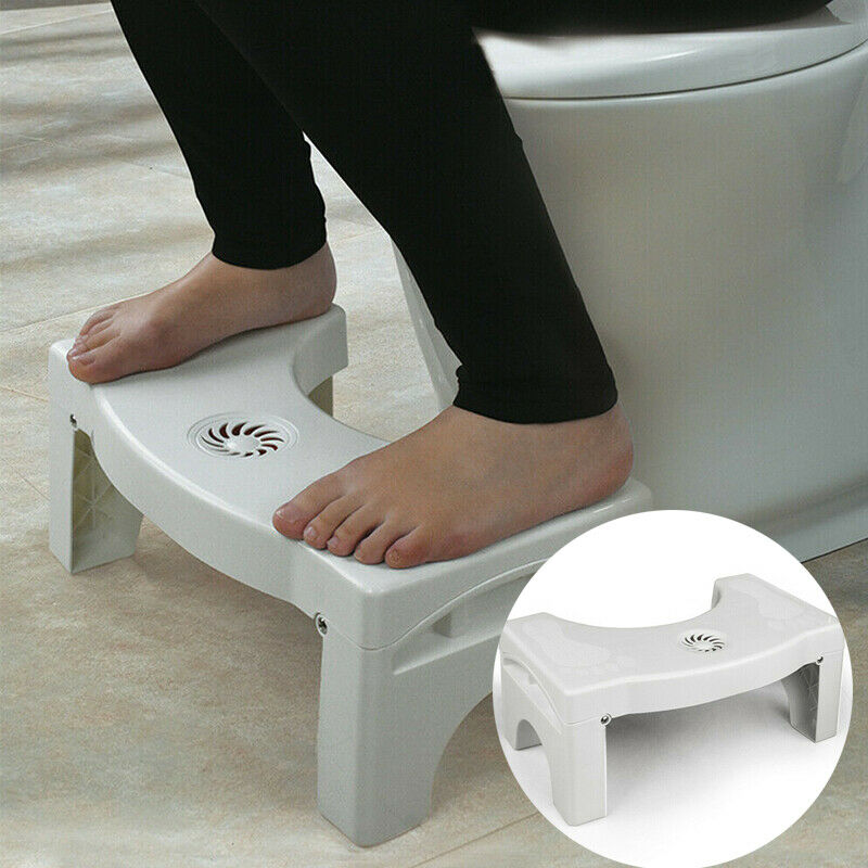 Foldable Toilet Squatty Plastic Thickened Toilet Stool Step Stool Anti-slip Feet Anti Constipation