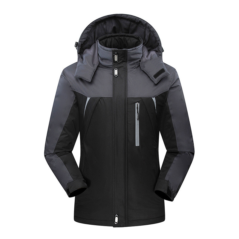 Autumn And Winter Down Jacket Inner Wearing Raincoat Jacket Three-in-One Couples Two-Piece Set Men And Women Jacket Trench Coat