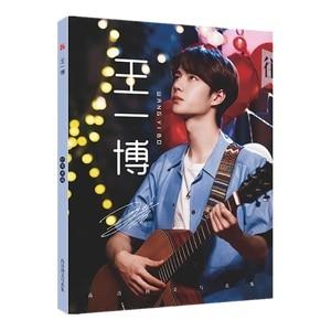 Image 4 - 1Pc 陳清玲絵画アートブックシャオ占王 Yibo スター文字フォトアルバムブックポスターブックマークギフト