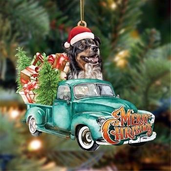 Dog Lovely Christmas Tree Gift 2