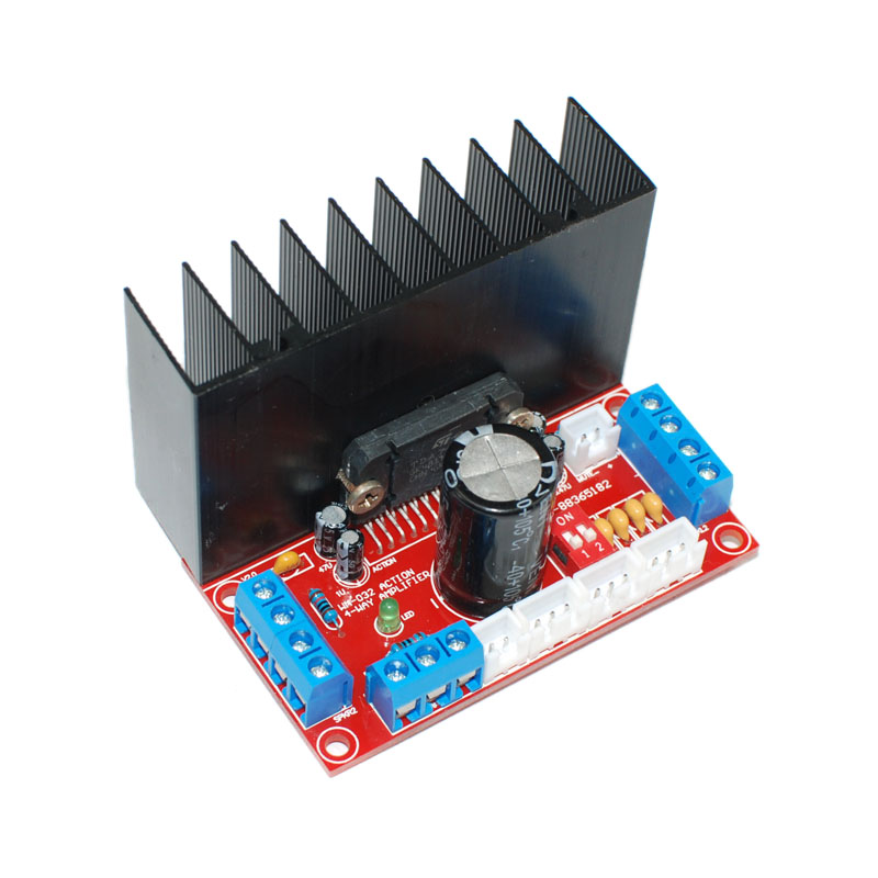 HIFI TDA7388 4 Channels Home Amplifier Board Car Audio Amplifier Board 4X41W Support Stereo Surround Sound