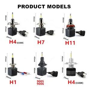 Image 5 - Светодиодная лампа H7 Canbus, светодиодные лампы H1 с чипами Samsung H11 H4, Светодиодные Автомобильные фары H8 9005 HB3 9006 HB4, светодиодная лампа, противотуманные фары лм